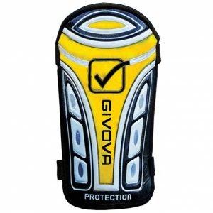 "Givova scheenbeschermers ""Parastinco Protection"" zwart / geel"