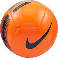 Nike Voetbal PITCH Team oranje blauw maat 5 SC3992-803