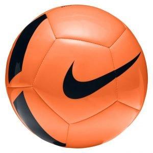 Nike Voetbal PITCH Team oranje zwart maat 5 SC3166