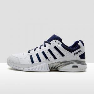 K-swiss receiver iv omni tennisschoenen wit/zwart/blauw heren