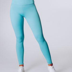 Sportlegging Dames Blauw - Workout Empire Strike